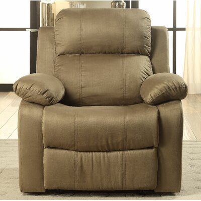 Parklon Manual Recliner Upholstery: Olive