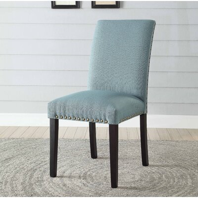 Ellettsville Upholstered Dining Chair Upholstery: Light Green