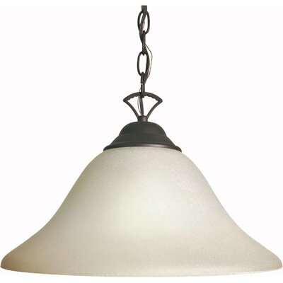 1-Light Pendant Finish / Shade: Antique Bronze / Umber