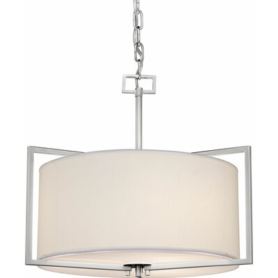 Mcneill 3-Light Drum Pendant