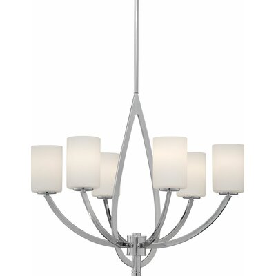 Mcphearson 6-Light Shaded Chandelier