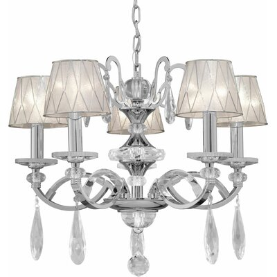 Kirklin 5-Light Shaded Chandelier