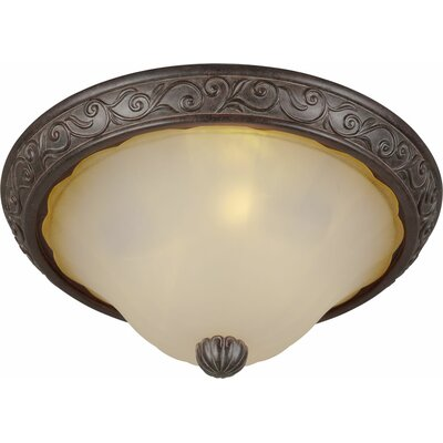 Bourland 3-Light Flush Mount