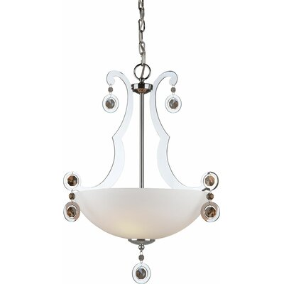 Kirkbride 3-Light Bowl Pendant