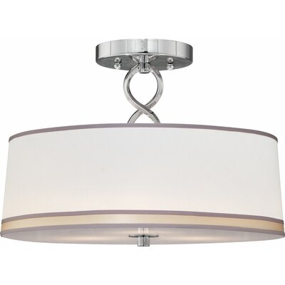 Madelyn 3-Light Semi Flush Mount