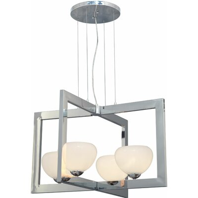 Kaneshiro 4-Light Foyer Pendant