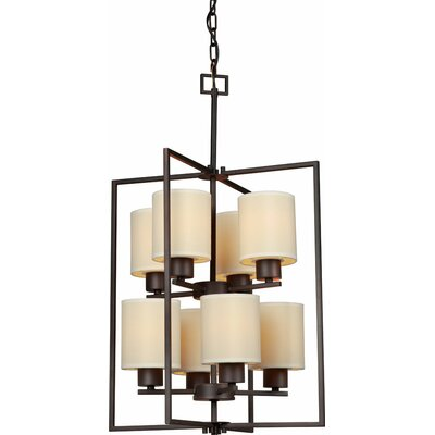Waldrop 8-Light Foyer Pendant
