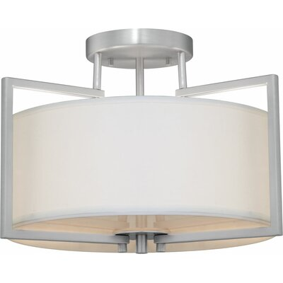 Mcmunn 2-Light Semi Flush Mount