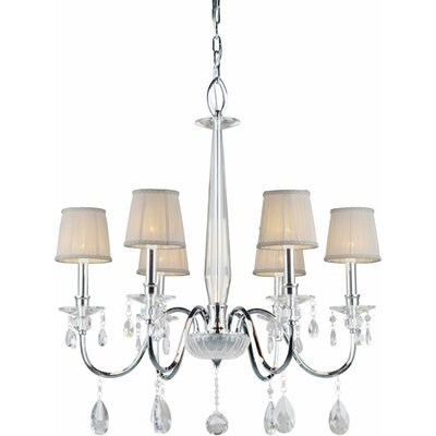 Kirkman 6-Light Shaded Chandelier
