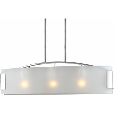 Mcnelly 3-Light Kitchen Island Pendant