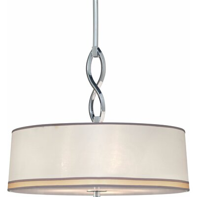 Waldon 3-Light Drum Pendant