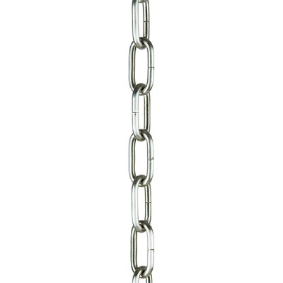 Chain (Sold in 1 foot Increments) Diameter / Finish: 0.181 / Brushed Nickel