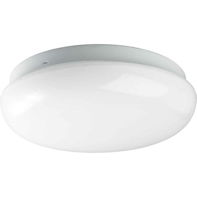 1-Light Flush Mount Size: 14 H x 3.5 W x 14 D
