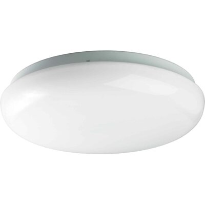 Vroman 1-Light Flush Mount Size: 11.5 H x 3.5 W x 11.5 D