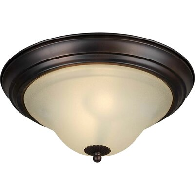 Votaw Energy Efficient 2-Light Flush Mount Size: 11.25 H x 5.75 W