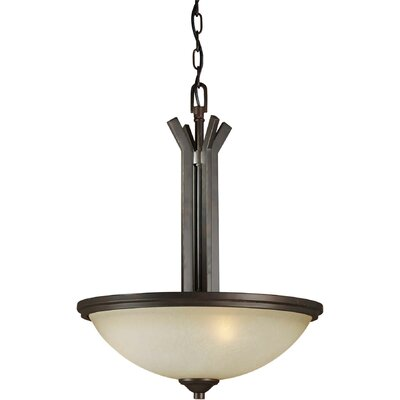 Vanzandt 3-Light Bowl Inverted Pendant