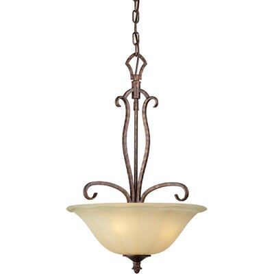 Bewley 3-Light Bowl Inverted Pendant