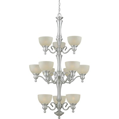 Vanzandt 12-Light Shaded Chandelier