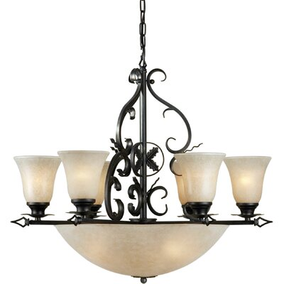 Botelho 10-Light Shaded Chandelier