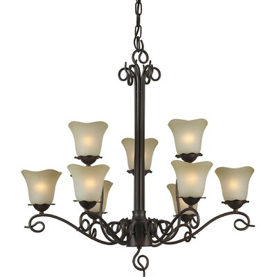 Cordia 5-Light Shaded Chandelier