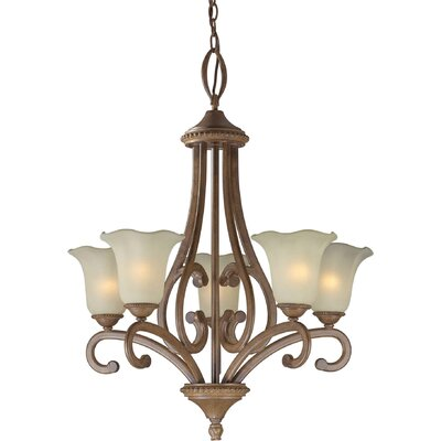 Boomer 5-Light Shaded Chandelier