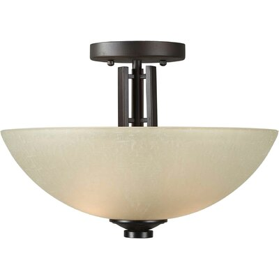 Vanzandt 2-Light Semi Flush Mount