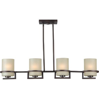 Roanoke 4-Light Kitchen Island Pendant