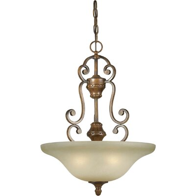 Bewley 4-Light Bowl Inverted Pendant