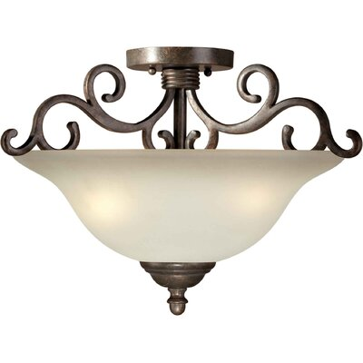 Semi Flush Mount Size: 17 H x 13 W