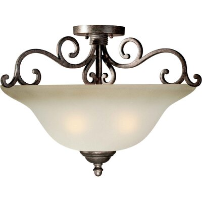 Semi Flush Mount Size: 21 H x 15 W