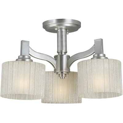 Vanzandt 3-Light Shaded Chandelier