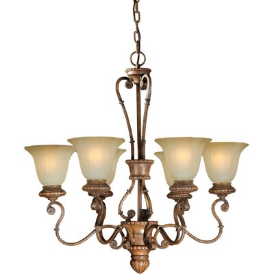 Longe 6-Light Shaded Chandelier