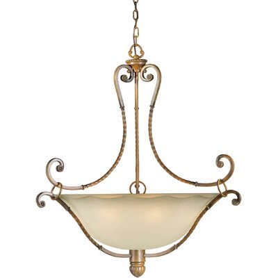 Bewley 6-Light Bowl Inverted Pendant