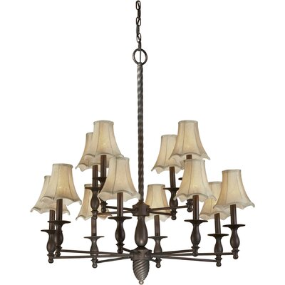 Pascua 12-Light Shaded Chandelier