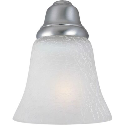 5 Glass Bell Pendant Shade Shade: Crackle