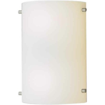 One Light Wall Sconce in Brushed Nickel