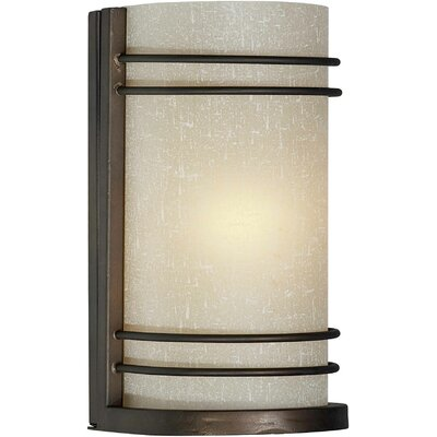 One Light Wall Sconce in Antique Bronze