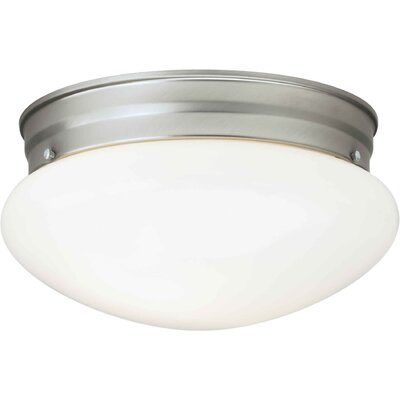 Villafane 1-Light Flush Mount Finish: Brushed Nickel