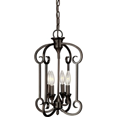 Bischof 4-Light Foyer Pendant