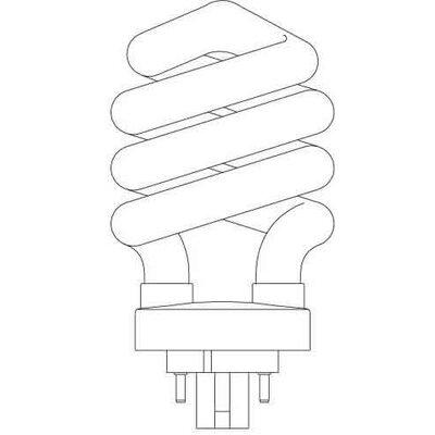 Spiral Lamp Bulb