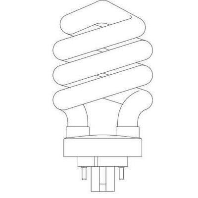 Spiral Lamp Bulb 2
