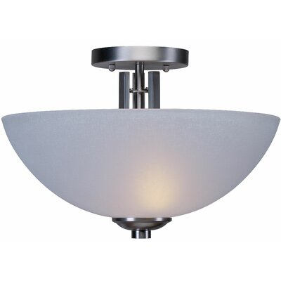 Waldschmidt 2-Light Semi Flush Mount