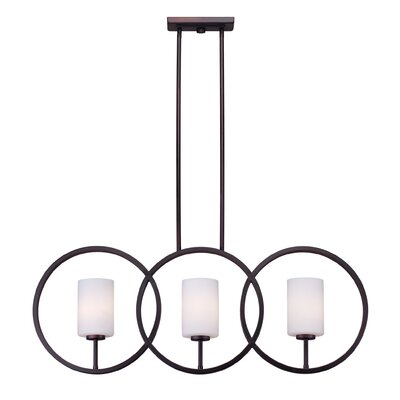 Buffum 3-Light Kitchen Island Pendant