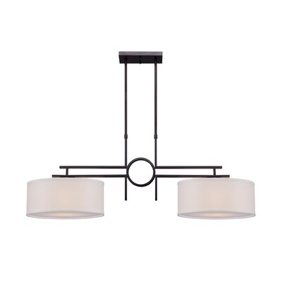 Burleigh 2-Light Kitchen Island Pendant