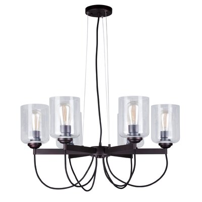Paul 6-Light Shaded Chandelier