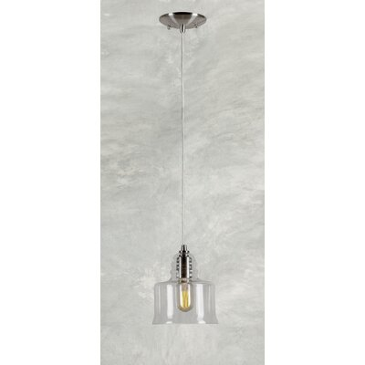 Du Bois Modern Cord-Hung 1-Light Mini Pendant