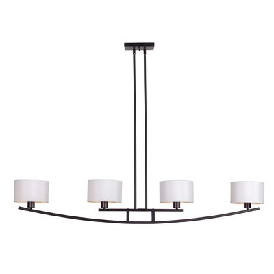Abbas 4-Light Kitchen Island Pendant