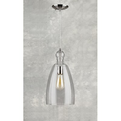 Du Bois Cord-Hung 1-Light Mini Pendant