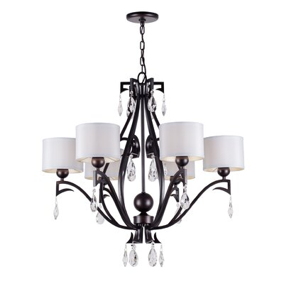 Boomberry 6-Light Shaded Chandelier