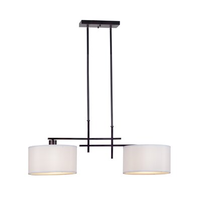 Kael 2-Light Kitchen Island Pendant